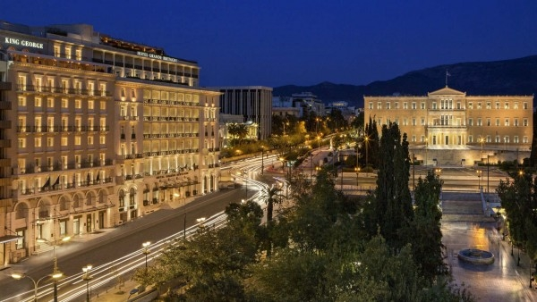 Mary Gostelow's hotel of the week: Athens' Luxury Collection